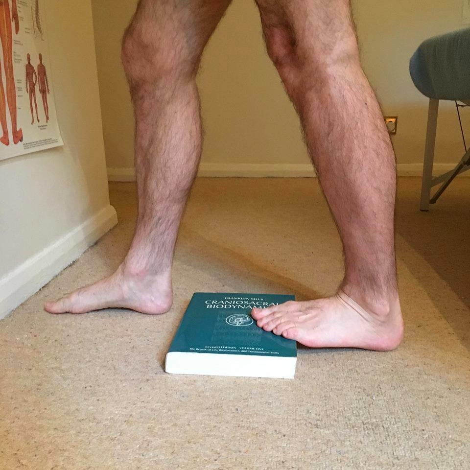 the Gastrocnemius is stretched by keeping your knee straight